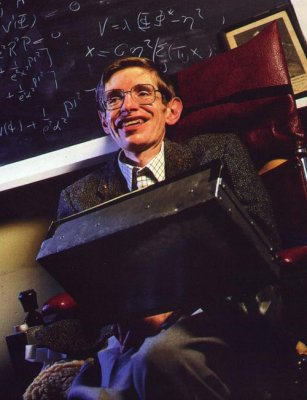 Stephen Hawking (1942- present ) Somehow he manages to make the complexities of cosmology and quantum physics understandable...if Kant was doing the writing physicists would still be trying to figure out what he meant....