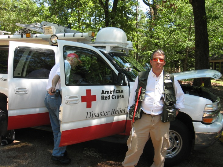 Though I may gaze upon the Red Cross, as an organization, with some degree of amusement and cynicism, it does not lessen my support of its humanitarian mission....