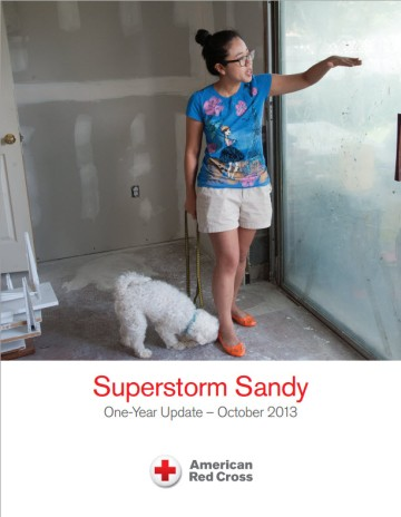The recent Red Cross Sandy report raises questions in my mind about future relief directions for ARC...