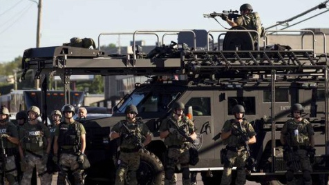 With Police Forces Like This Who Needs a National Guard?  But does it deter terrorism?
