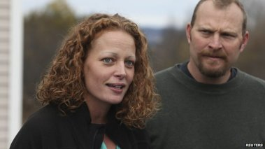 Kaci Hickox stands up to Ebola hysteria and politicalization....and wins!